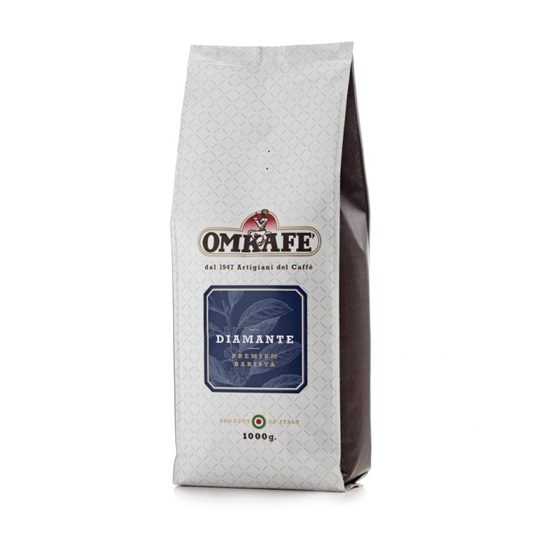 Omkafé Diamante – zrnková káva – 1kg
