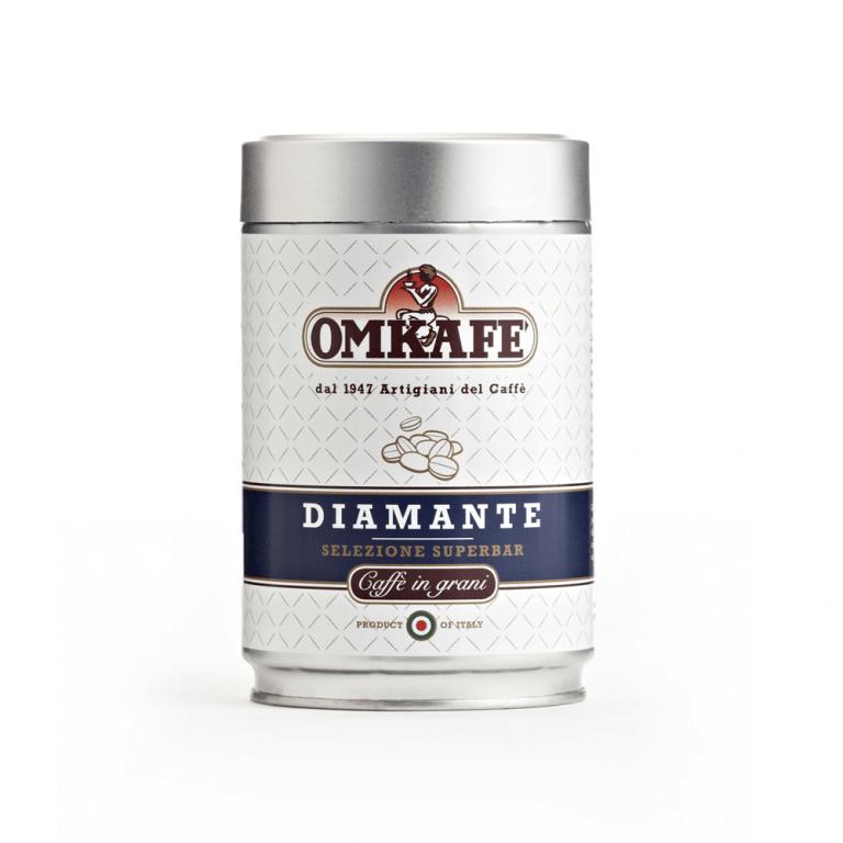 Omkafé Diamante – zrnková káva – 250 g
