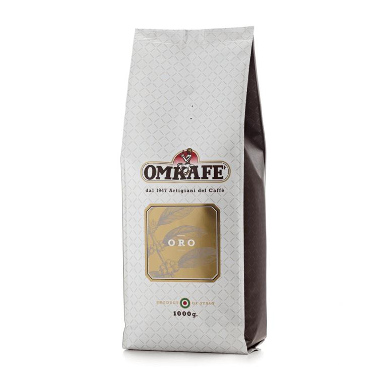 Omkafé  Oro – zrnková káva – 1kg